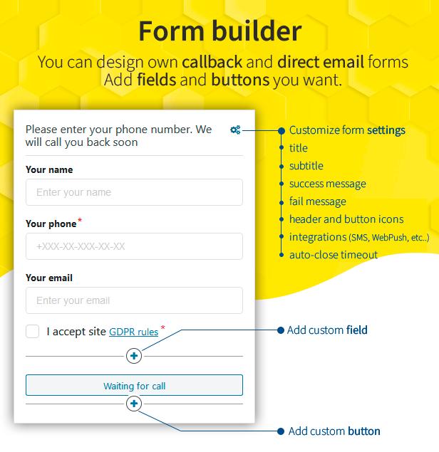 construtor de formulários