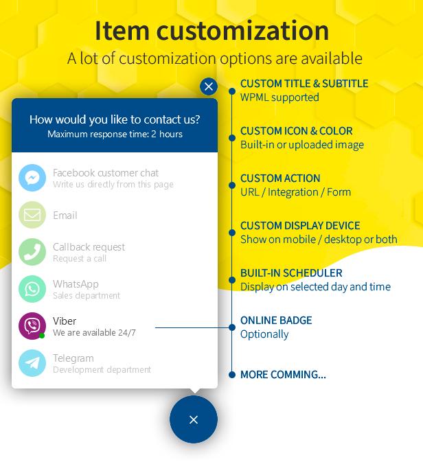 personalização de item
